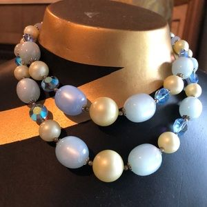 Vintage moonstone necklace